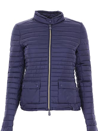 Save The Duck Jacket for Women On Sale, Dark Bluette, polyester, 2017, 1 (S - 40/42) 2 (M - 42/44)