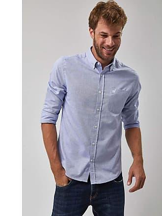 Zapalla Camisa Oxford - Azul - Tamanho X
