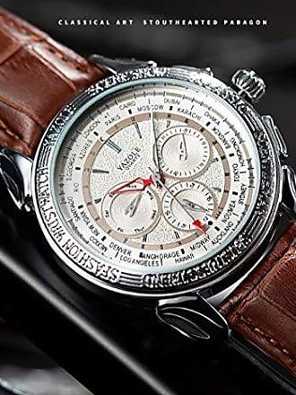 Yazole Relógio Grande Masculino Yazole D444 Social (4)