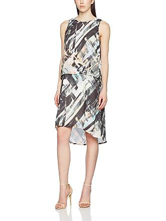 5f0cd066d5cc Great Plains Womens Pastel Paint Double Layer Dress Asymmetrical