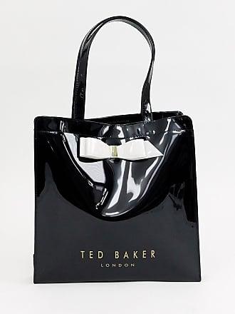 51713fafb5 Ted Baker Almacon - Borsa con fiocco e logo grande - Nero