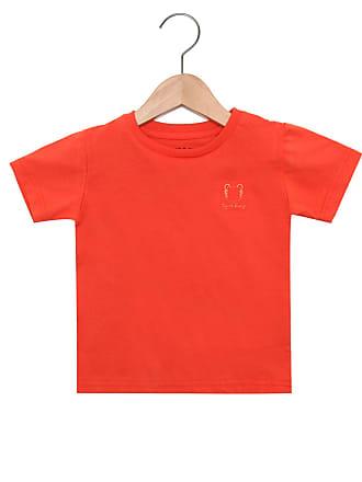 Tigor T. Tigre Camiseta Tigor T. Tigre Menino Laranja