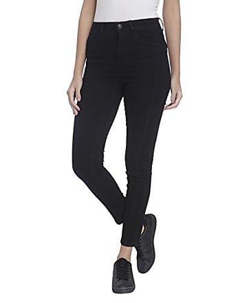 3e17ae97d7 Vero Moda Vmnine Hw S.Slim Sine Ankle Jeans Vi016, Noir (Black)