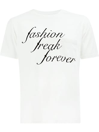TAKAHIROMIYASHITA TheSoloist. Camiseta Fashion Freak Forever - Branco