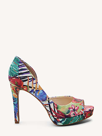 Jessica Simpson Womens Deista Platform Pumps Multi Size 6 Leather From Sole Society
