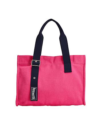Vilebrequin Accessories - Small Cotton Beach Bag Solid - BEACH BAG - BAGMU - Red - OSFA - Vilebrequin