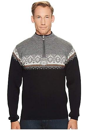Dale of Norway Moritz Masculine (J-Black/Orange Peel/Off-White/Smoke) Mens Sweater