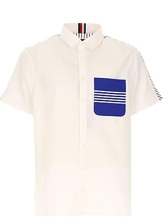 Tommy Hilfiger Hemde für Herren, Oberhemd Günstig im Outlet Sale, Weiss,  Baumwolle, 1cd5b2d97f