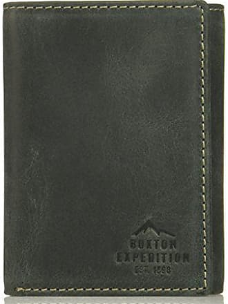 Buxton Men/'s Baja RFID Blocking I.d Three-fold