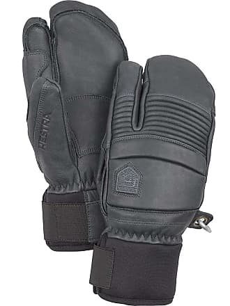 Ku35852f Hestra Army Leather Heli Ski 3 Finger Gloves Mens Free