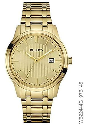 Bulova Relógio Masculino Bulova Analógico WB22444G - Dourado