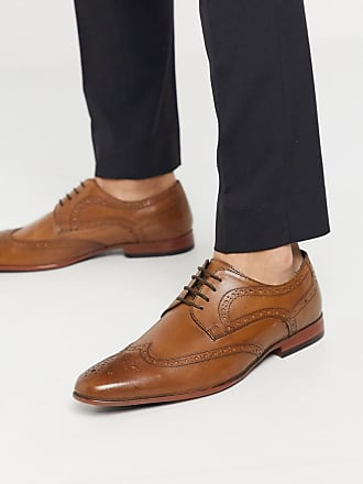 Burton Menswear leather brogue in tan
