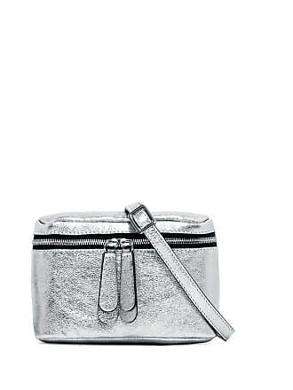 Gianni Chiarini galatea small silver cross body bag