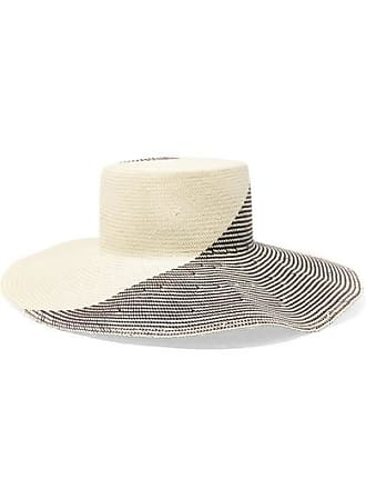 cee228f8 Eugenia Kim Annabelle Two-tone Straw Hat - Off-white