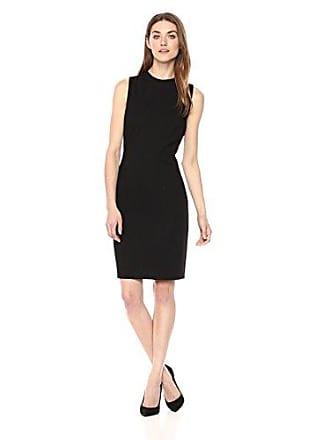 10948caf2e7 T Tahari Womens Paloma Sleeveless Ponte High Neck Sheath Dress