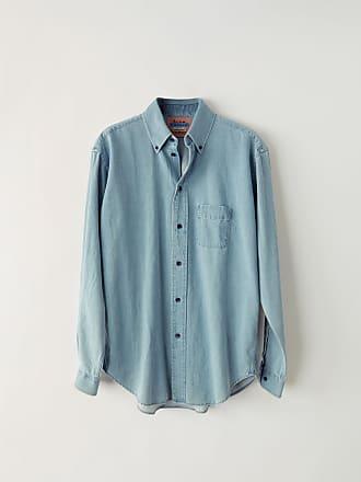Acne Studios BK-MN-SHIR000016 Light blue Long-sleeved shirt