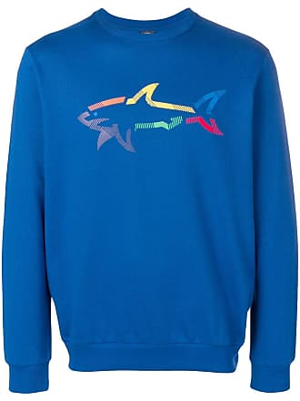 Paul & Shark Moletom com estampa de logo - Azul