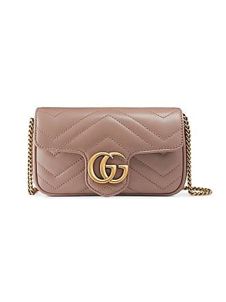 a69730dbff3 Gucci GG Marmont matelassé leather super mini bag - Neutrals