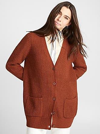 Twik Loose waffle-knit cardigan
