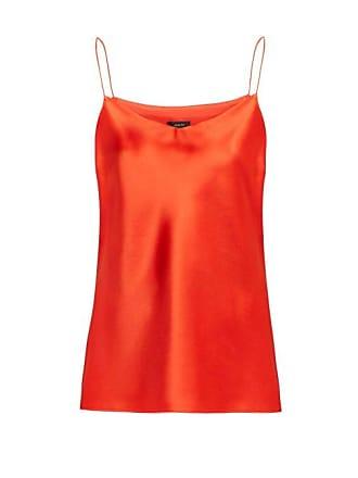 Joseph Sten Silk Satin Cami Top - Womens - Red