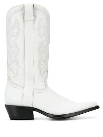 339f419bc3e7 Ash Amazone embroidered boots - White