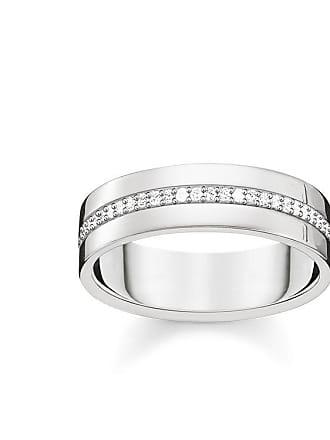 Thomas Sabo Thomas Sabo ring med gravyr vit TR2118-051-14-48 9d8f89a9010e1