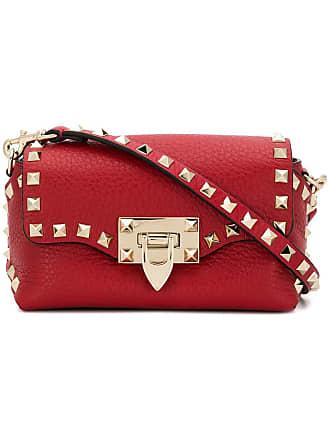 Valentino sac à bandoulière Valentino Garavani Rockstud - Rouge 6a3217e95d1f