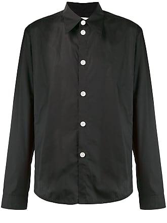 Namacheko Camisa mangas longas com botões - Preto