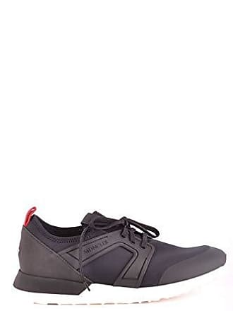 9a5024fd7c7d21 Moncler Damen Mcbi36011 Schwarz Stoff Sneakers
