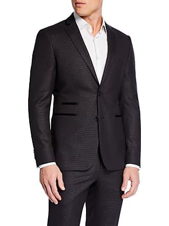 Neiman Marcus Mens Slim-Fit Neat Dot 2-Piece Suit