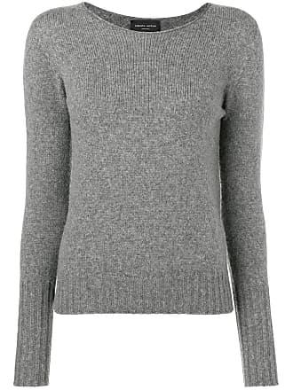 Roberto Collina mesh knit sweater - Grey