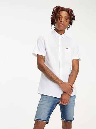 12508a6c60efde Tommy Hilfiger Short Sleeve Pure Cotton Shirt XXL