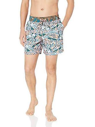e227ae00a442a Clothing & Accessories Maaji Mens Printed Elastic Waist Mid Length Swimsuit  Trunks 6 Inseam Swim Trunks Swim