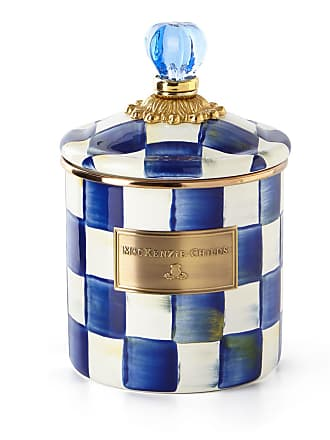 MacKenzie-Childs Royal Check Small Canister