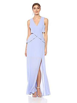 Bcbgmaxazria BCBGMax Azria Womens Reesie Crisscross Gown, Light Wisteria 2