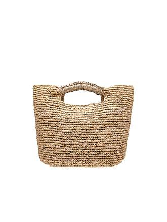 Florabella Small Napa Lux Bag in Brown