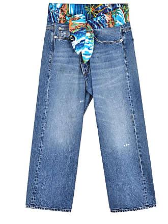 R13 Cross Over boyfriend jeans