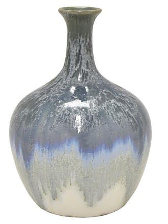 Three Hands Ceramic Transitional Table Vase - Blue - 57601