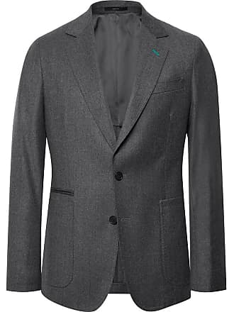 Paul Smith Grey Wool And Cashmere-blend Suit Jacket - Gray