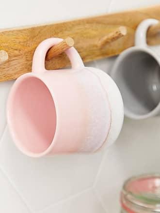 Sass & Belle rustic pink glaze mug-Multi