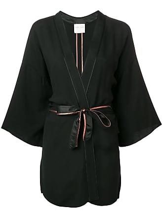 Forte_Forte belted jacket - Black