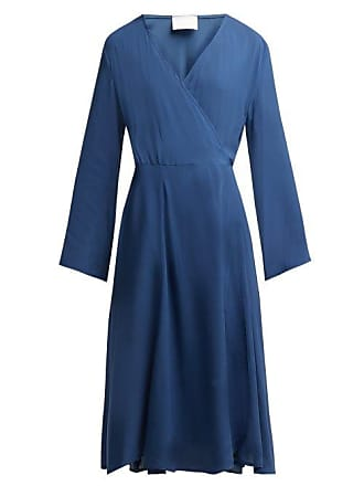 Bower Bianca Wrap Sun Dress - Womens - Blue