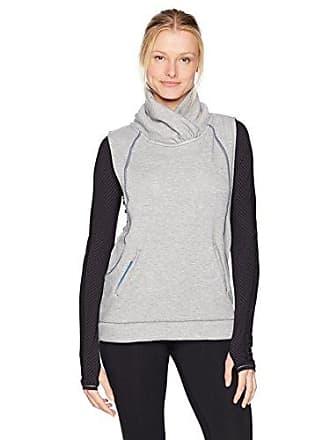 Maaji Womens Reversible Rainwater Fashion Vest, Light Gray, M