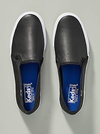 68157f2592a Keds® Leather Slip-On Shoes − Sale  up to −40%