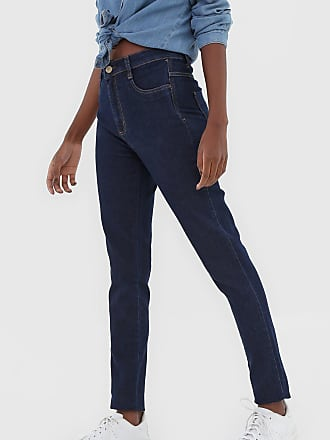 Sawary Calça Jeans Sawary Skinny Pespontos Azul