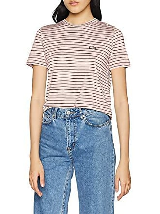 319e708ea18 Lacoste TF6562 T-Shirt Femme Rose (Nidus Marine 7lq) 44 (Taille