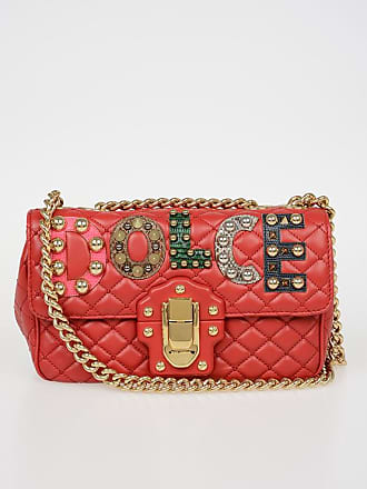 d56d9719 Dolce & Gabbana Quilted Leather LUCIA Shoulder Bag size Unica