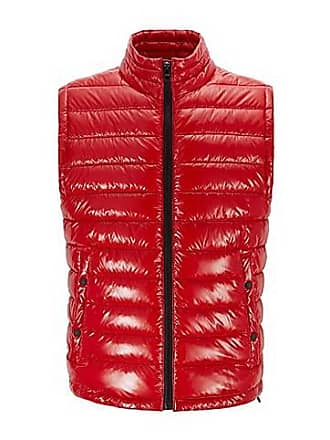 bd6435821ae BOSS Water-repellent padded gilet with stand collar