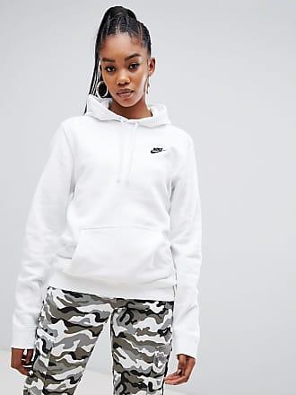 Nike Club - Sweat à capuche à logo virgule - Blanc - Blanc 6263a4b16f15