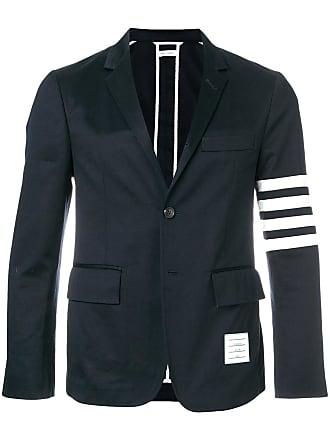 Thom Browne 4-bar Unconstructed Sport Coat - Blue